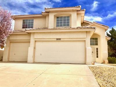 Albuquerque Single Family Home For Sale: 8008 Camino De Aguila NW