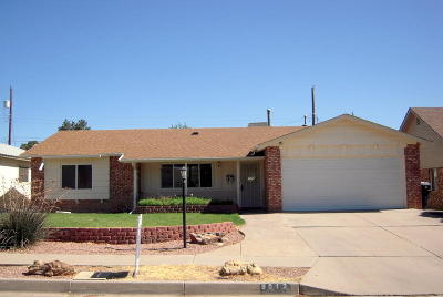 Albuquerque Single Family Home For Sale: 9012 Haines Avenue NE