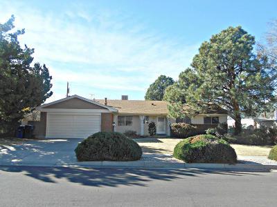 Albuquerque Single Family Home For Sale: 7608 Palo Duro Avenue NE