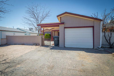 Rio Rancho Single Family Home For Sale: 4831 Platinum Loop NE