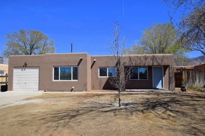 Albuquerque Single Family Home For Sale: 1912 Saint Street NE