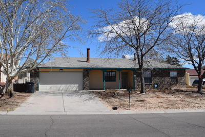 Rio Rancho Single Family Home For Sale: 480 Stagecoach Road SE