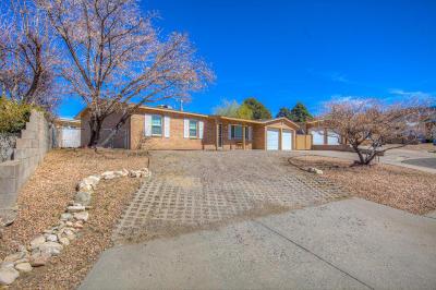 Albuquerque NM Single Family Home For Sale: $193,900