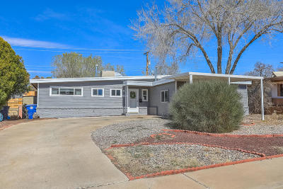 Albuquerque Single Family Home For Sale: 10405 Gloria Place NE