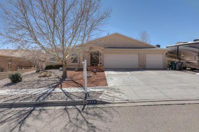 Rio Rancho Single Family Home For Sale: 6506 Sophia Hills Court NE