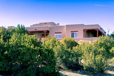 Placitas Single Family Home For Sale: 54 Desert Mountain Road