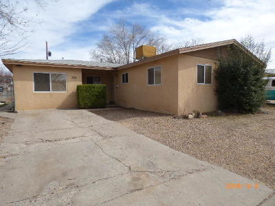Albuquerque Single Family Home For Sale: 332 General Arnold Street NE