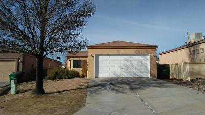 Single Family Home For Sale: 2232 High Desert Circle NE