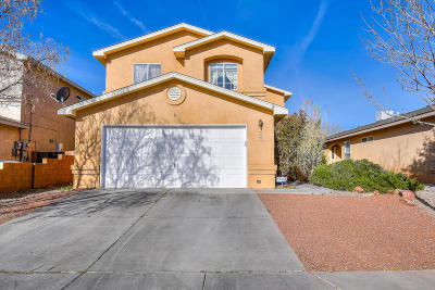 Albuquerque NM Single Family Home For Sale: $185,000