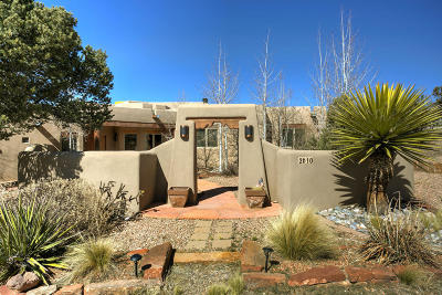 Santa Fe Single Family Home For Sale: 2610 Sol Y Nubes