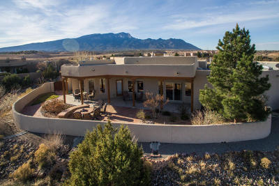 Placitas Single Family Home For Sale: 4 Third Mesa Court