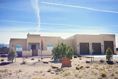 Placitas Single Family Home For Sale: 43 Palomino Road