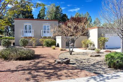 Single Family Home For Sale: 7416 Gila Road NE