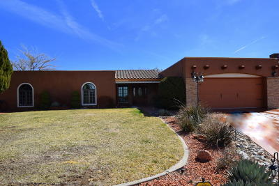 Albuquerque NM Single Family Home For Sale: $459,900