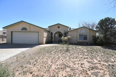 Rio Rancho Single Family Home For Sale: 6106 Jack Rabbit Road NE