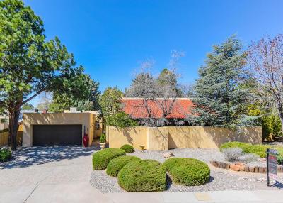 Albuquerque Single Family Home For Sale: 3309 La Sala Del Este NE