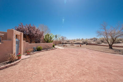 Corrales Single Family Home For Sale: 306 Paseo De Corrales