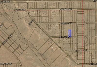 Rio Rancho Residential Lots & Land For Sale: 43rd Street Unit 22 NE