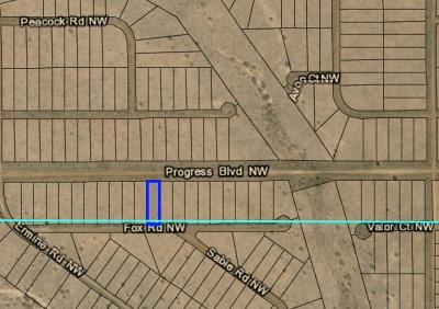 Rio Rancho Residential Lots & Land For Sale: Fox NW