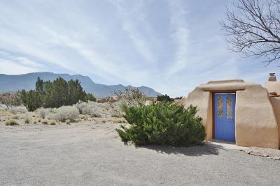 Placitas Single Family Home For Sale: 99 Camino Barranca