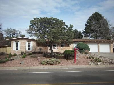 Albuquerque NM Single Family Home For Sale: $329,900