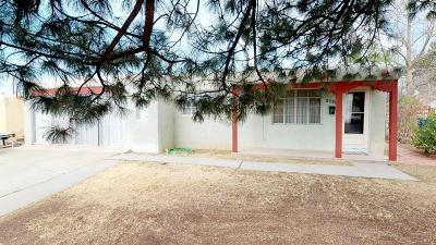 Albuquerque Single Family Home For Sale: 2501 Britt Street NE