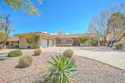Albuquerque Single Family Home For Sale: 714 Valverde Drive SE