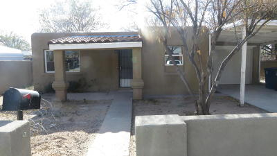 Albuquerque Single Family Home For Sale: 321 56th Street SW