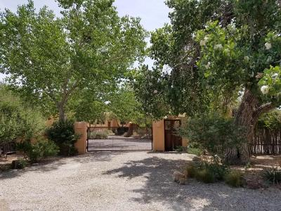 Corrales Single Family Home For Sale: 5406 Corrales Road