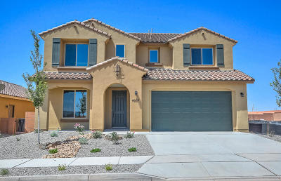 Rio Rancho Single Family Home For Sale: 4009 Mountain Trail Loop NE