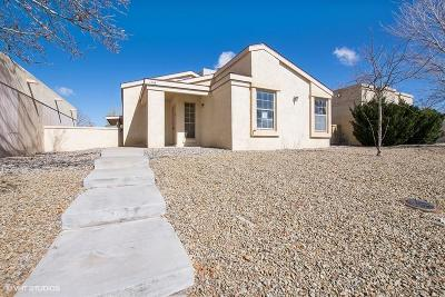 Rio Rancho Single Family Home For Sale: 1705 Skyview Circle NE