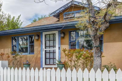 Albuquerque Single Family Home For Sale: 609 11th Street NW