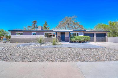 Albuquerque Single Family Home For Sale: 7201 Mountain Road NE