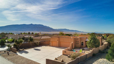 Rio Rancho Single Family Home For Sale: 6506 Oersted Road NE