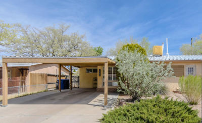 Albuquerque Single Family Home For Sale: 11203 Morris Place NE