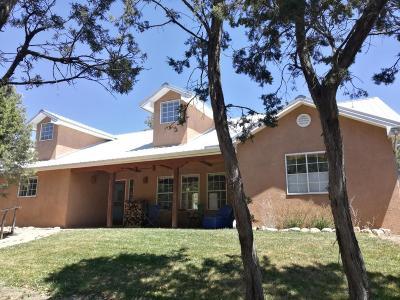 Tijeras, Cedar Crest, Sandia Park, Edgewood, Moriarty, Stanley Single Family Home For Sale: 149 Via Sedillo Road