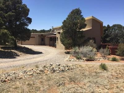 Tijeras, Cedar Crest, Sandia Park, Edgewood, Moriarty, Stanley Single Family Home For Sale: 15 Maplewood Court