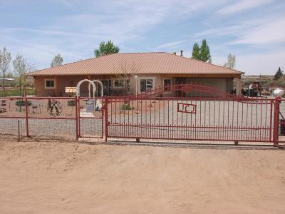 Valencia County Single Family Home For Sale: 27 Cielo Vista Road