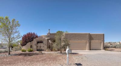 Rio Rancho Single Family Home For Sale: 5452 Tecamec Road NE