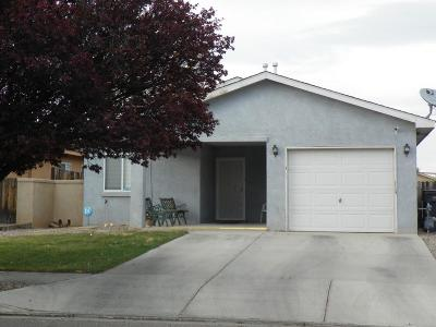 Rio Rancho Single Family Home For Sale: 709 Clayton Meadows Drive NE