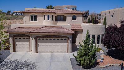 Los Lunas Single Family Home For Sale: 1200 Blanca Avenue NW