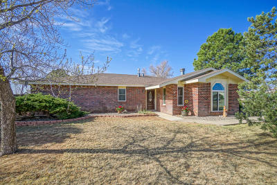 Tijeras, Cedar Crest, Sandia Park, Edgewood, Moriarty, Stanley Single Family Home For Sale: 3 Madole Road