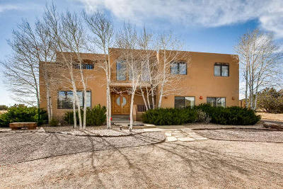 Santa Fe Single Family Home For Sale: 60 Vaquero Road