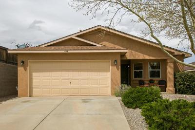 Rio Rancho Single Family Home For Sale: 605 Truchas Meadows Drive NE