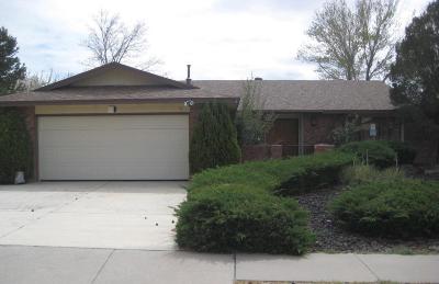 Single Family Home For Sale: 13536 Terragon Drive NE