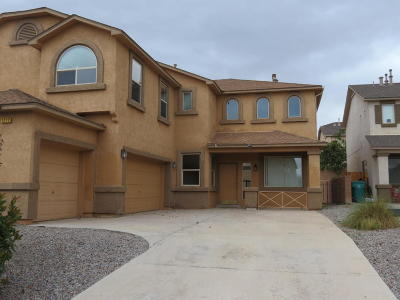 Rio Rancho Single Family Home For Sale: 1217 Sidewinder Road NE