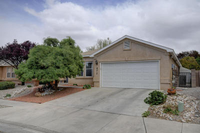 Albuquerque Single Family Home For Sale: 8312 La Milpita Street NE