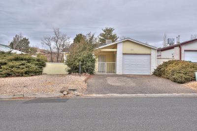 Rio Rancho Single Family Home For Sale: 259 Pearl Drive NE