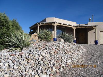 Placitas Single Family Home For Sale: 5 Luna Azul