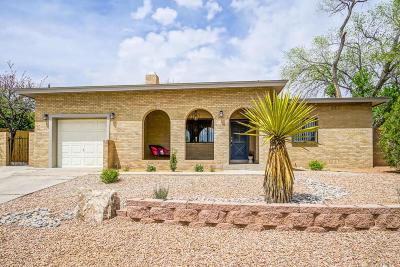 Albuquerque Single Family Home For Sale: 4515 Robin Drive NE
